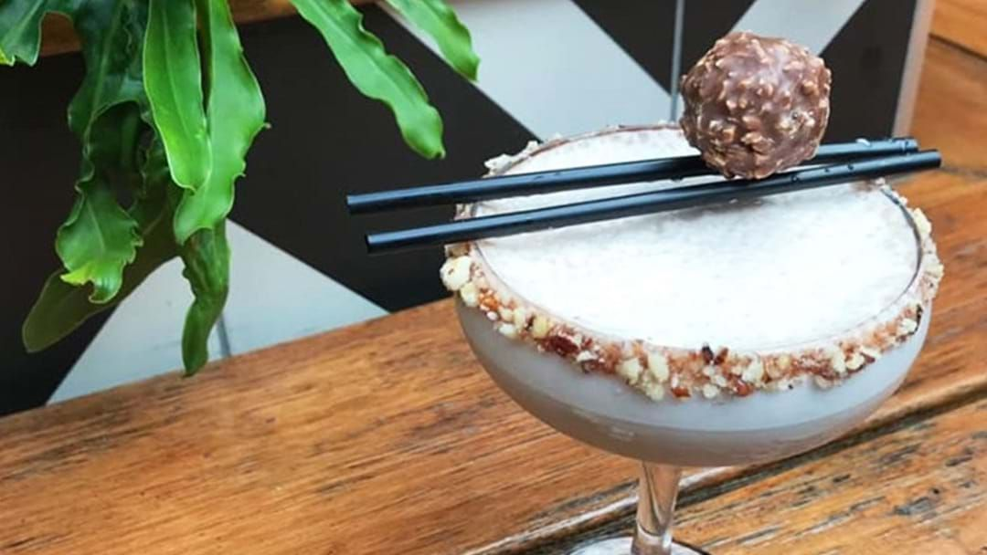 Article heading image for Ignore Winter With A Ferrero Roche Cocktail In Adelaide This Month