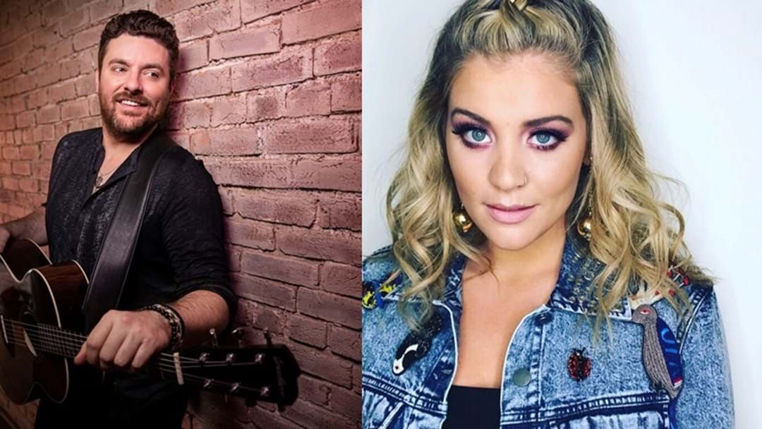 """Article heading image for Chris Young Wanted No One Else But Lauren Alaina on """"Town Ain't Big Enough"""""""