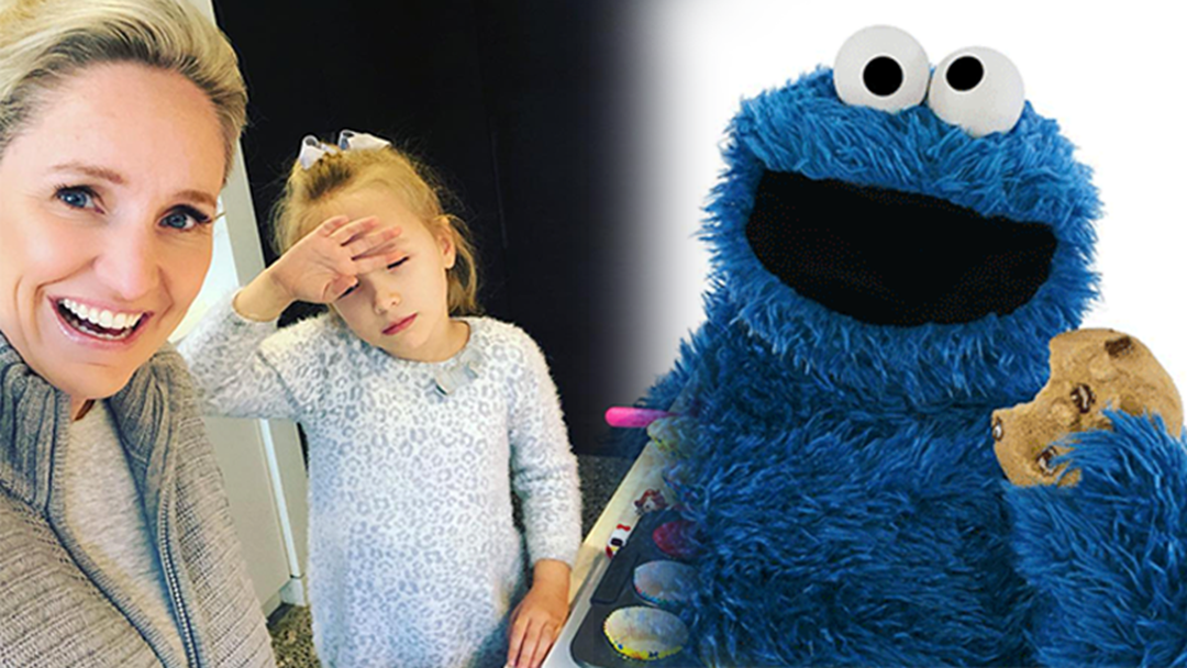 Article heading image for Fifi Box's Daughter Trixie Does NOT Get Along Well With The Cookie Monster