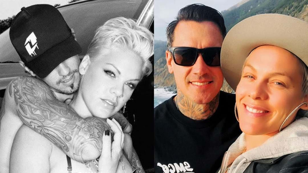 Article heading image for Pink's Husband Posts The Sweetest Love Letter To His Wife On Her 40th Birthday!