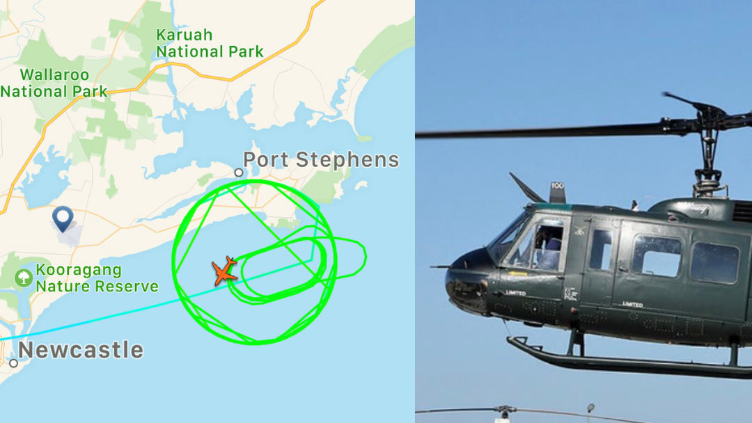 Article heading image for BREAKING NEWS: Large Scale Search Following Chopper Crash