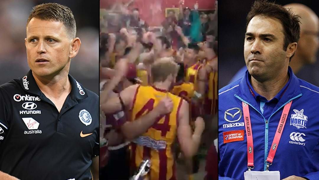 Article heading image for LISTEN | Nunawading Coach Paul Bevan Gives Some Advice To Two AFL Coaches After Breaking His 62-Game Losing Streak
