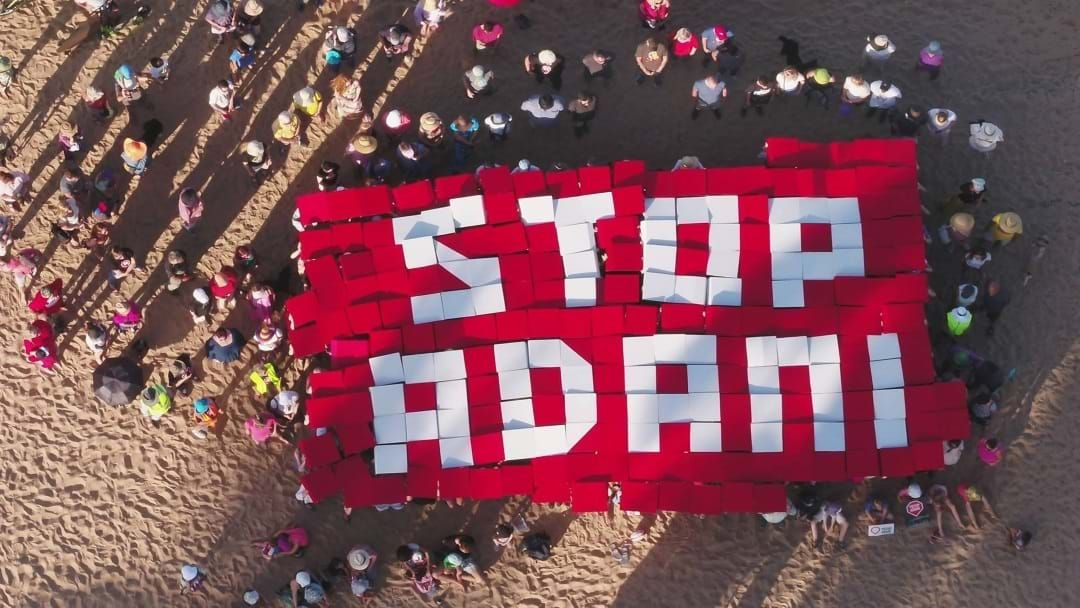 Article heading image for A Week Of Anti-Adani Protests Have Begun, With Townsville The First Target