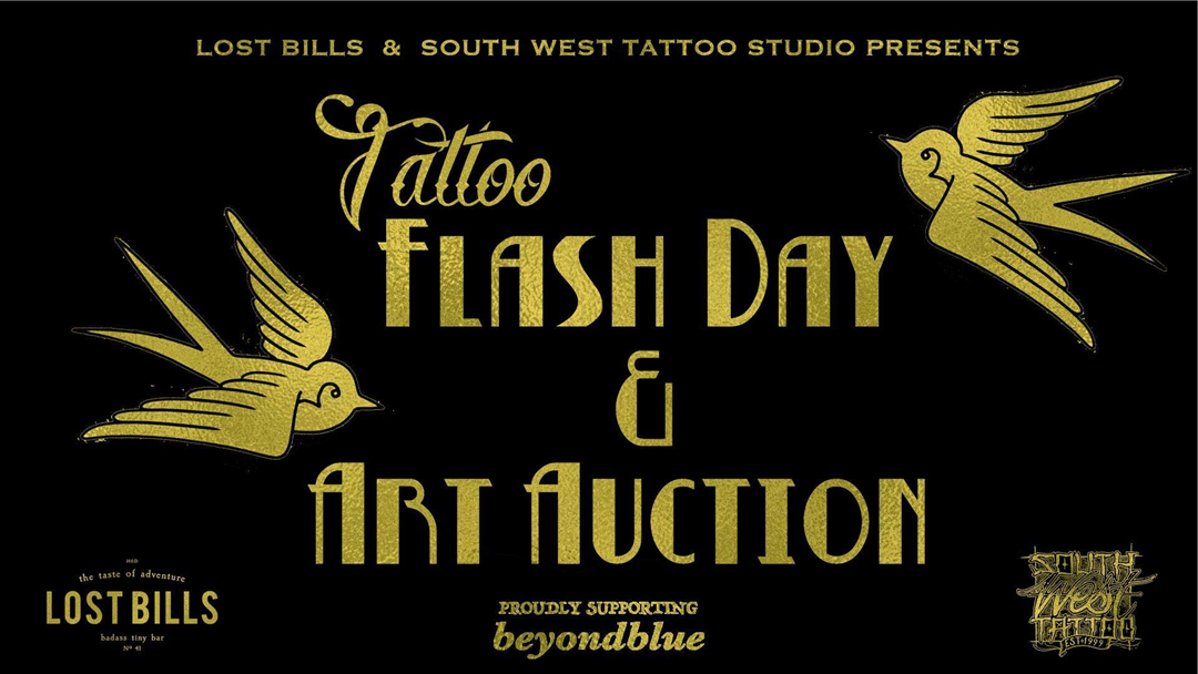 Article heading image for Tattoo Flash Day & Art Auction