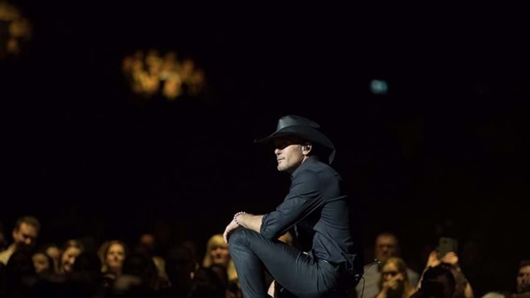Article heading image for Tim McGraw Collapses During C2C Festival in Dublin