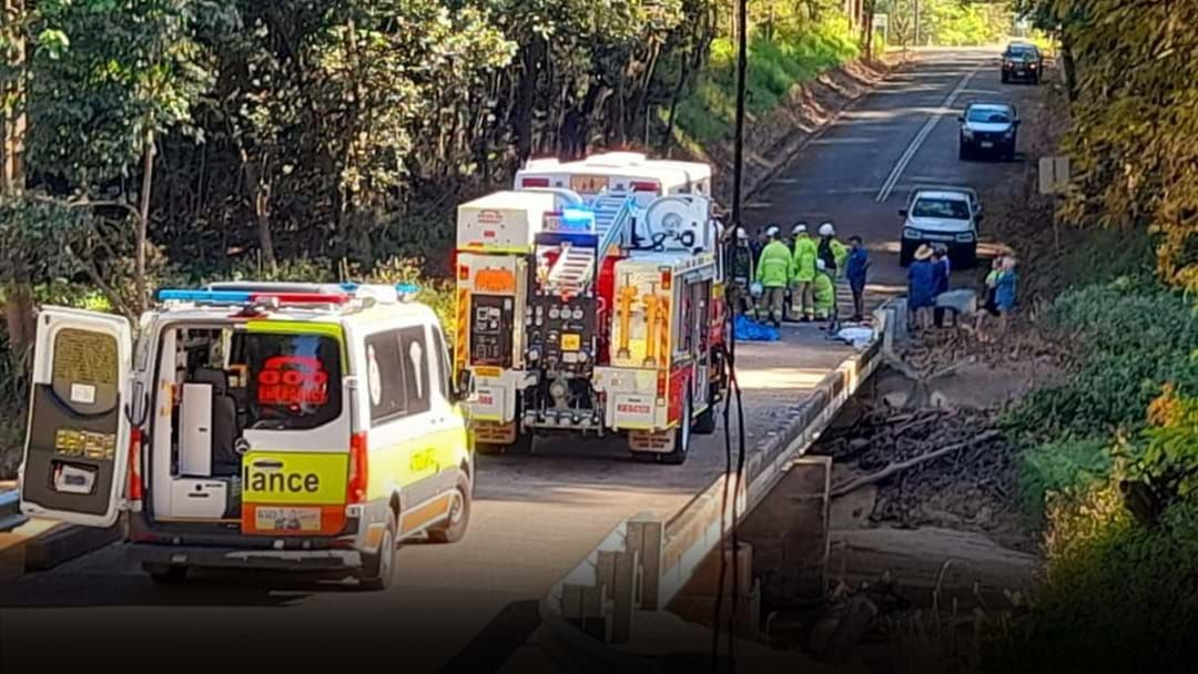 Article heading image for Man Airlifted To Townsville Hospital After Bus And Car Collision