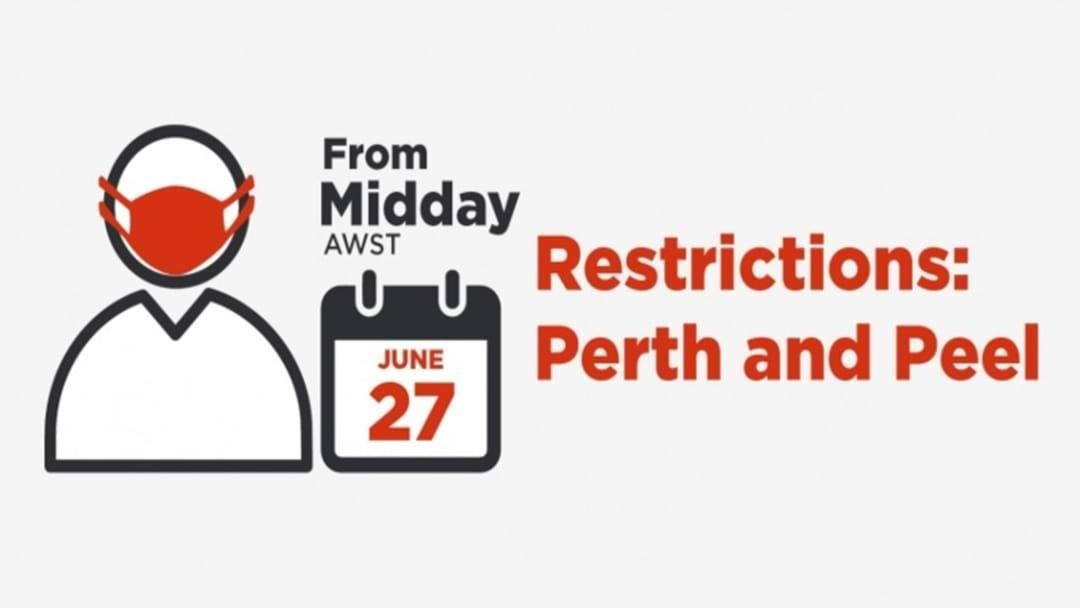 Article heading image for WA Records No New Cases As Perth & Peel Regions Return To Phase 1 Restrictions