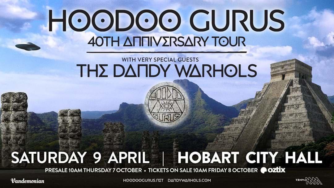 Article heading image for Hoodoo Gurus Announce Hobart 2022 Show!