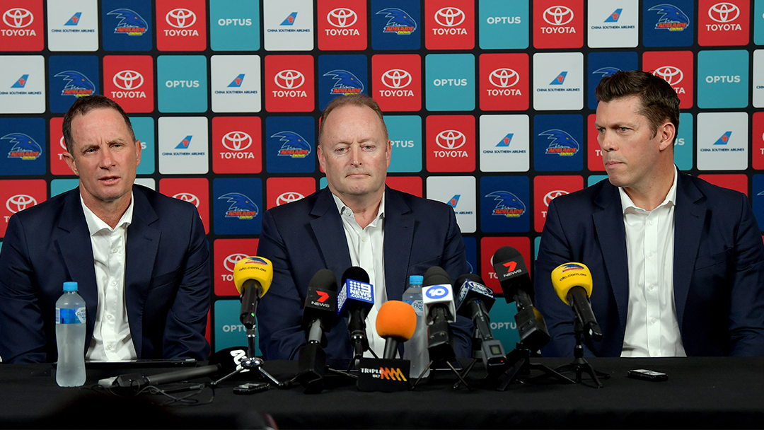 Article heading image for Adelaide Crows CEO Andrew Fagan Discusses The Style of Coach The Club Is Searching For