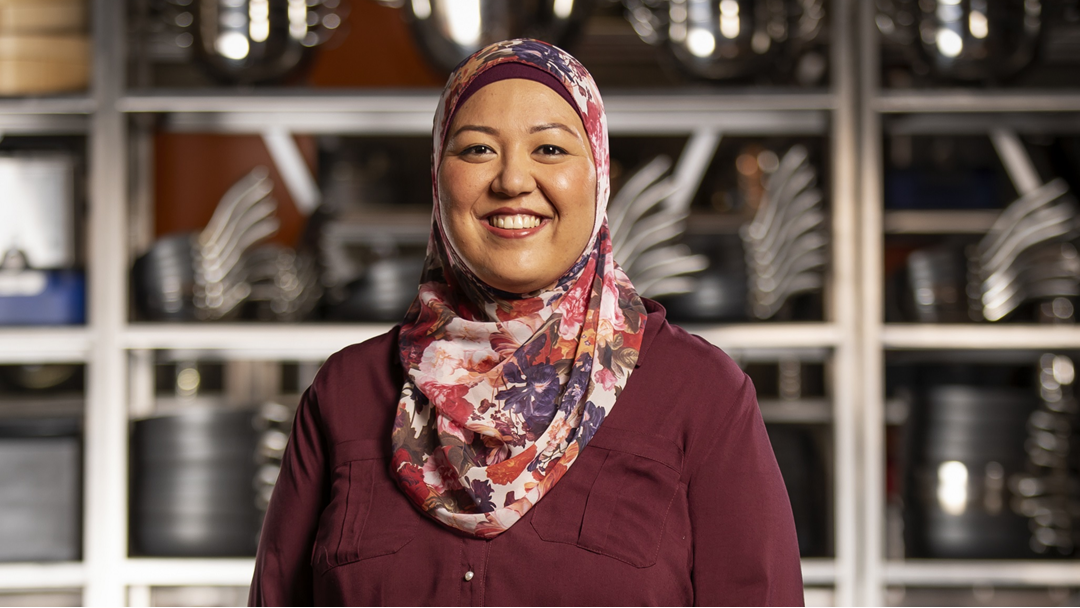 Article heading image for Masterchef's Amina lifts the lid on who feeds the contestants