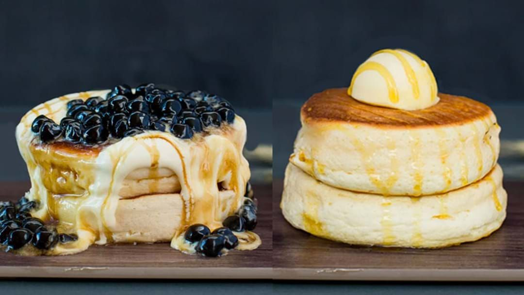 Article heading image for These Fluffy Japanese Soufflé Pancakes Are Coming To Sydney!