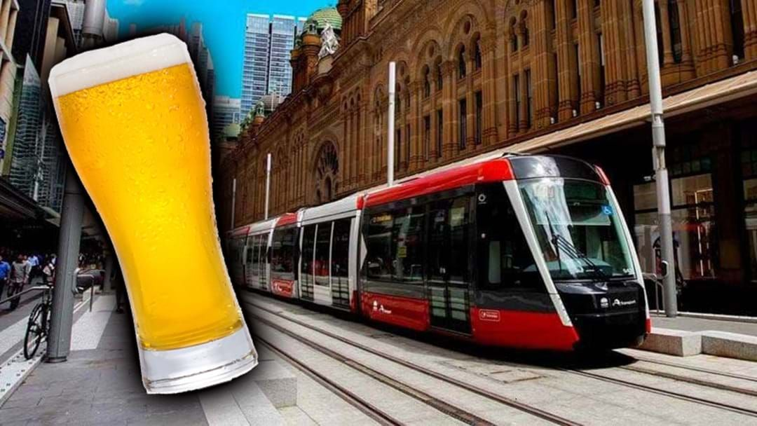 Article heading image for A Sydney Bar Is Offering Free Beer & Wine If The New Light Rail Arrives On Time