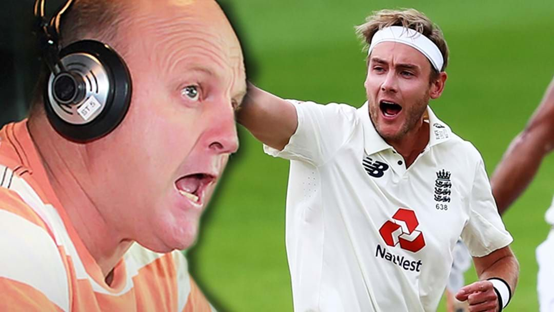 Article heading image for The Untold Story Behind Billy's Infamous Bake Of Stuart Broad