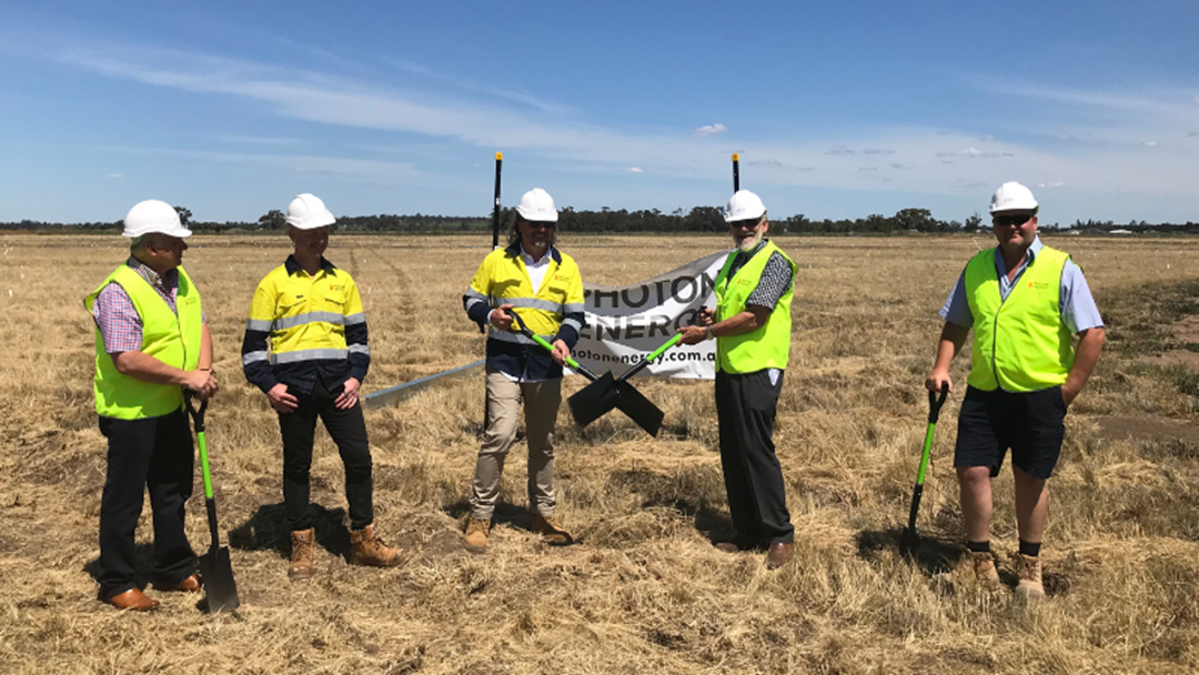 Article heading image for Soil-Turning Ceremony To Start Construction Of 14 MWp Leeton Solar Farms