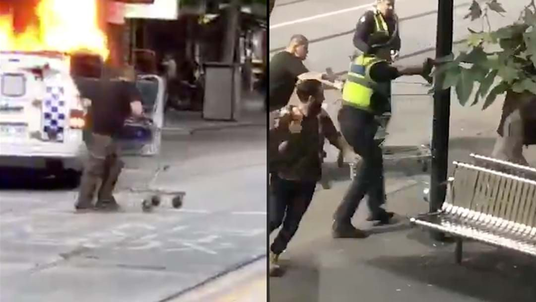 Article heading image for Bourke Street's Trolley Man Has Handed Himself Into Police