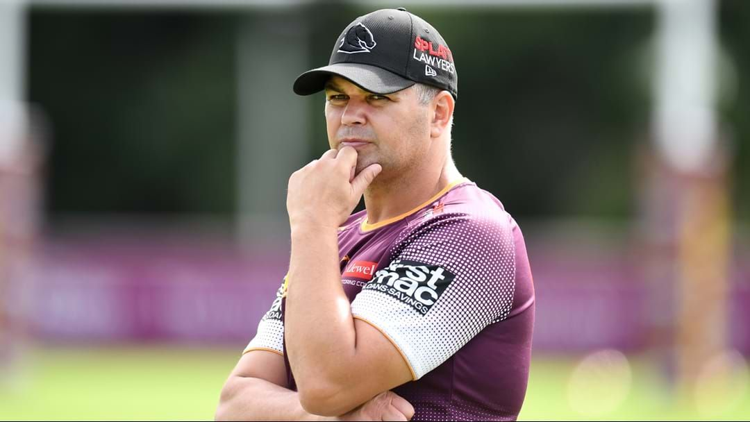 """Article heading image for Why Anthony Seibold Is """"Cheering"""" About The Re-Introduction Of The One-Ref System"""
