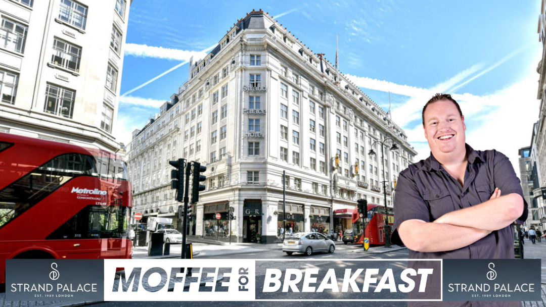 Article heading image for LIVE FROM LONDON: Moffee's Mate Checks Out Strand Palace Hotel