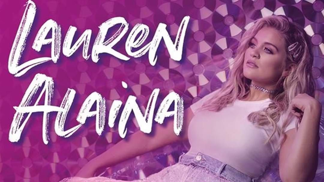Article heading image for Lauren Alaina Has A New Man in Her Life