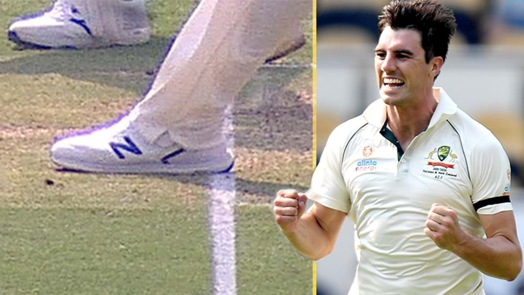 Article heading image for Adam Gilchrist Reveals Why The Third Umpire Didn't Call This Pat Cummins Wicket A No Ball