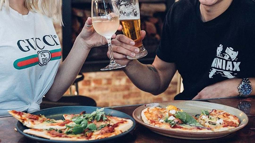 Article heading image for Here's Where You Can Literally Score Yourself Free Food With Any Drink