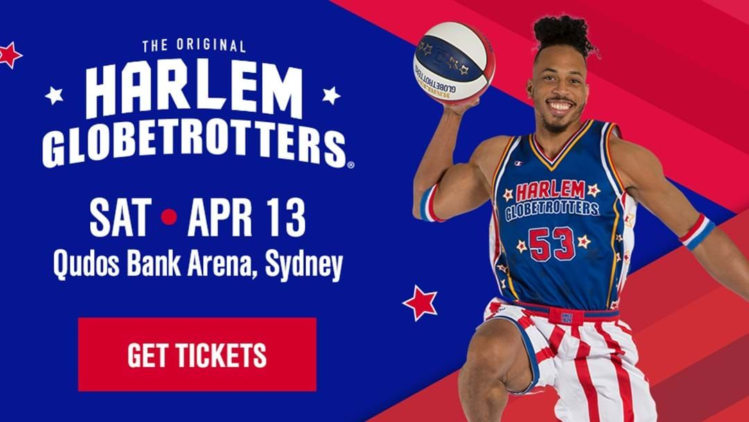 Article heading image for Harlem Globetrotters At Qudos Bank Arena!