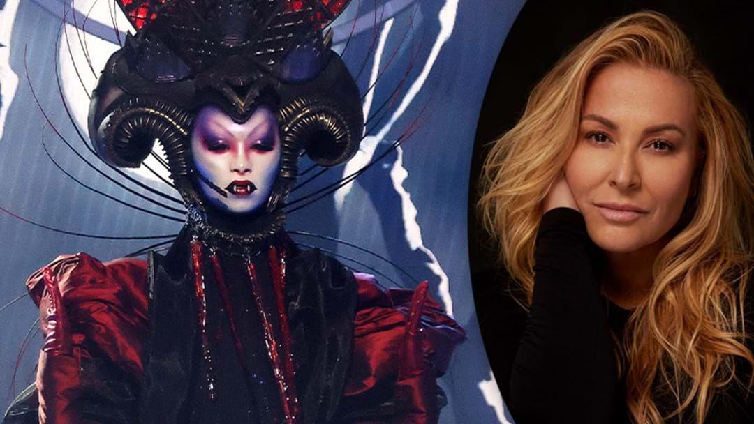 Article heading image for 'Masked Singer' Winner Anastacia Makes Hughesy Blush With Intense Flirting