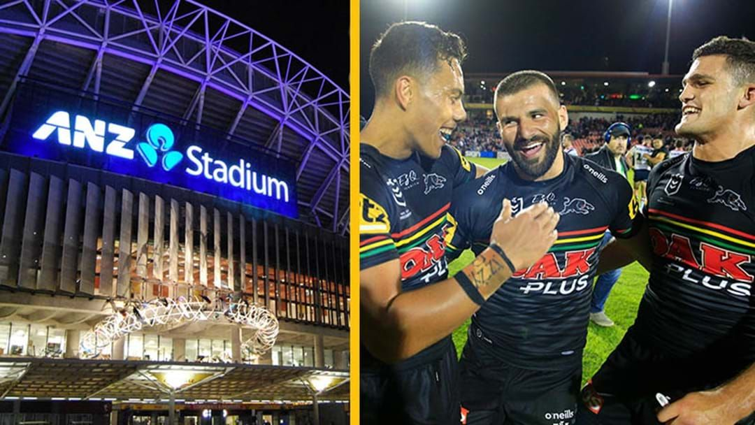 Article heading image for Ryan Girdler Urges The Panthers To Play Finals Matches At ANZ Stadium