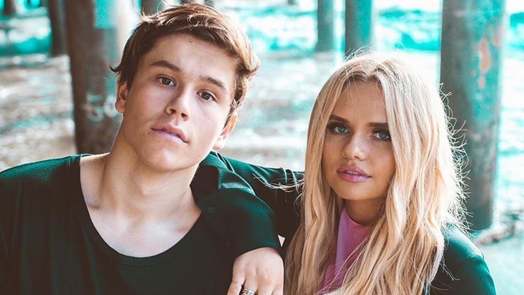 Article heading image for Jai Waetford And Alli Simpson Have Some Very Exciting News