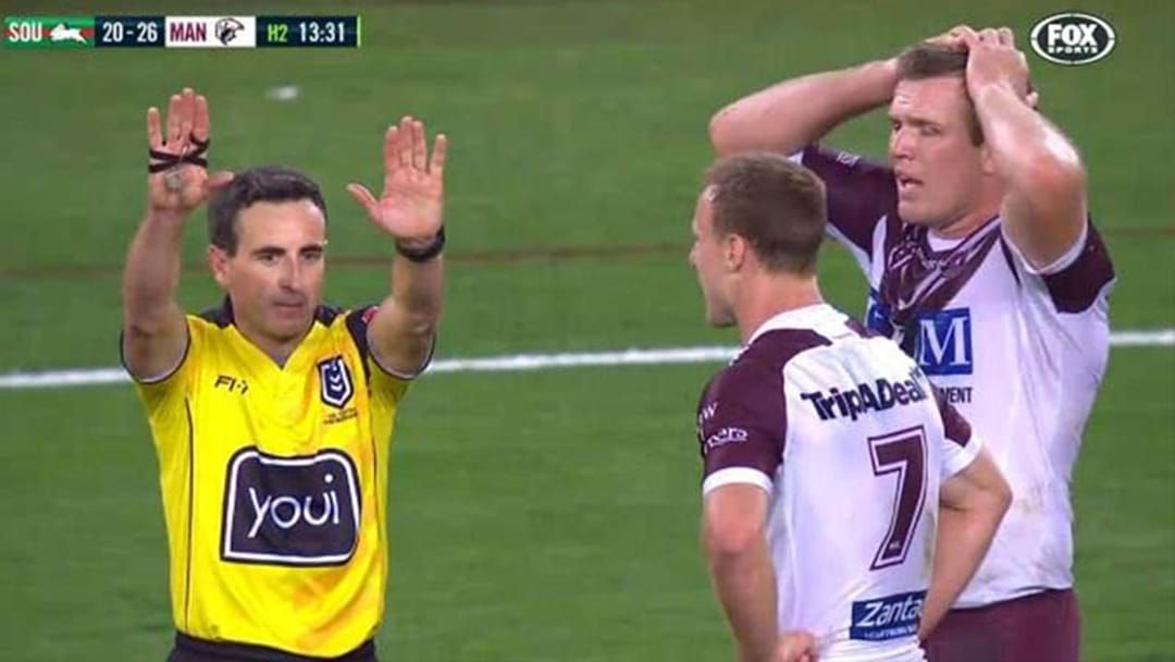 "Article heading image for ""They Got It Wrong"": Ryan Girdler Disagrees With Decision To Sin-Bin Jake Trbojevic"