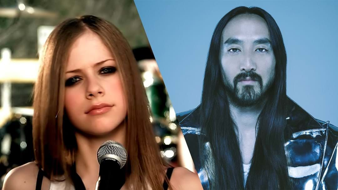 Article heading image for Steve Aoki Drops A Remix Of Avril Lavigne's 'Complicated'