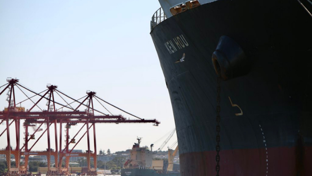 Article heading image for Cargo Ship Infected With Covid-19 Remains At Fremantle Port For Now