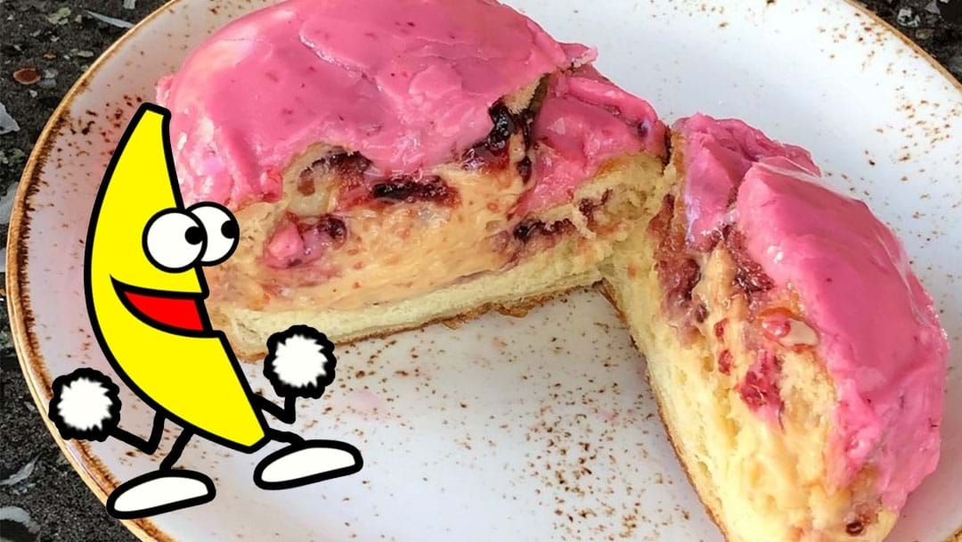 Article heading image for Fix All Of Life's Problems With Mary Street's New PB&J Donut!