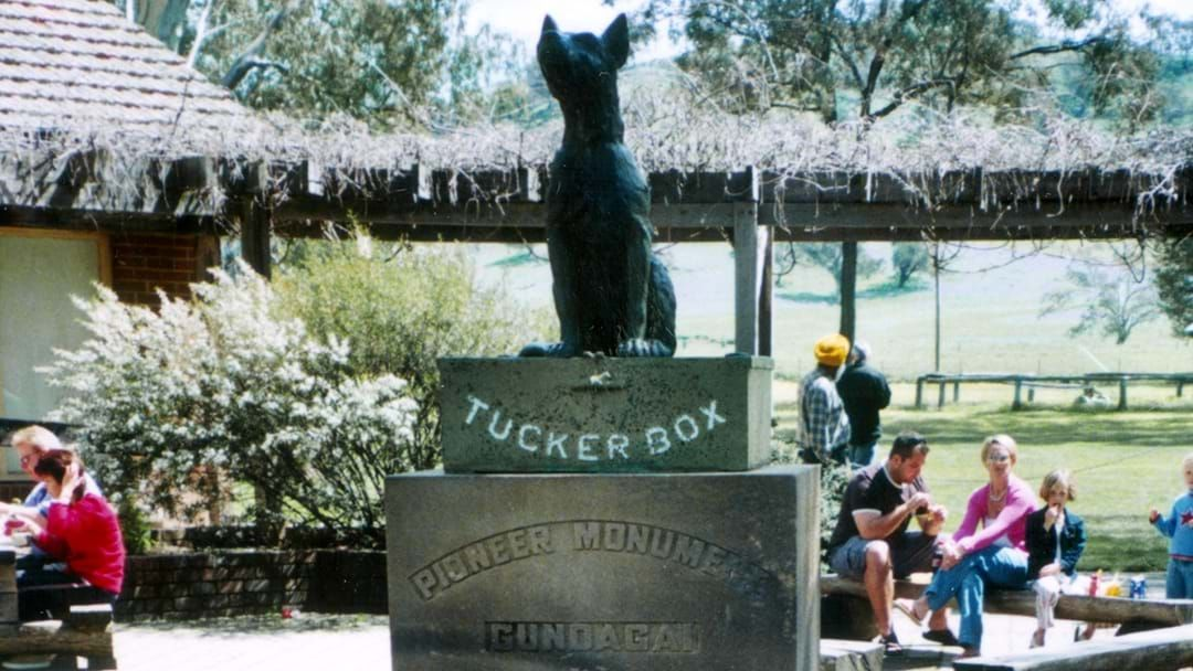 "Article heading image for ""Un-Australian"": Cootamundra-Gundagai Mayor Abb McAlister Addresses The Extent Of The 'Dog On The Tuckerbox' Vandalism"