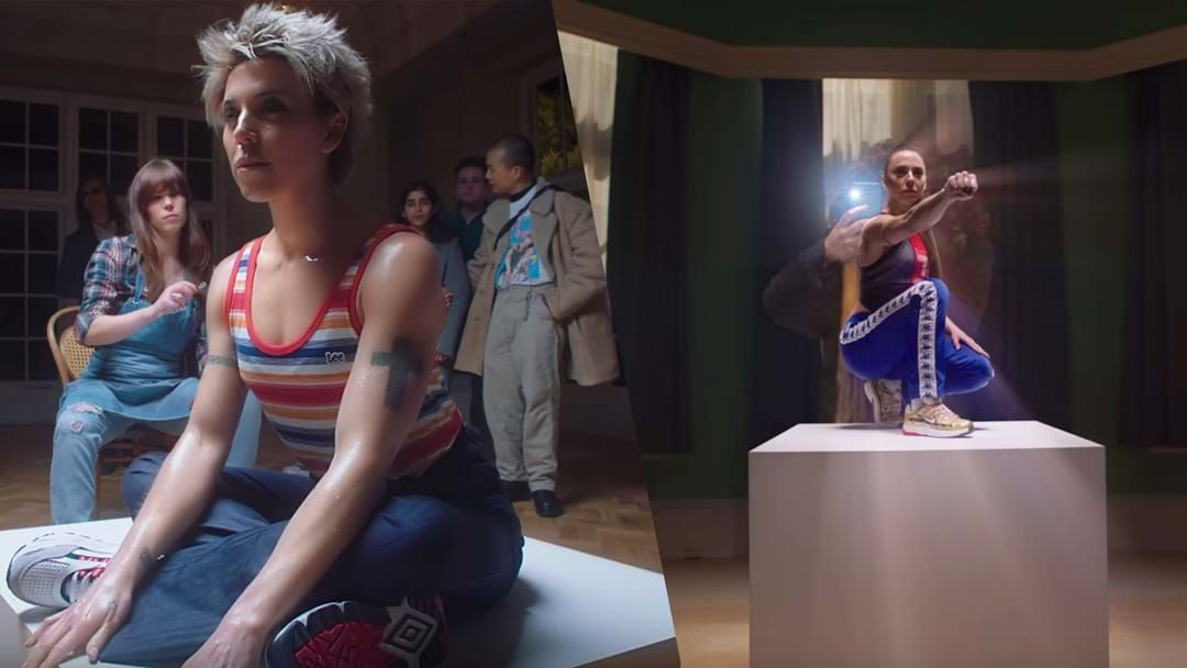 Article heading image for See Mel C Take A Stroll Through A Sporty Spice Museum In New Video