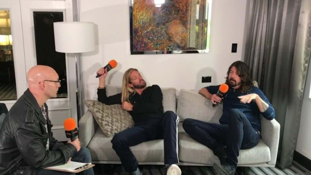 Article heading image for Ugly Phil Interviews Foo Fighters