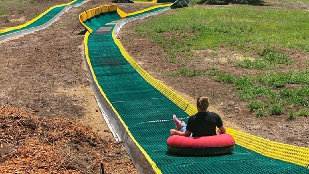 Article heading image for A Massive Donut Slide & A Labyrinth Maze Are Coming To Adelaide Hills