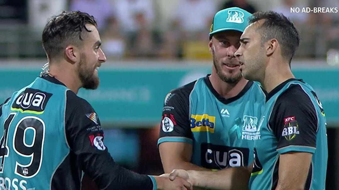 Article heading image for LISTEN | Josh Lalor Took A Hat Trick In The BBL Without Even Realising It