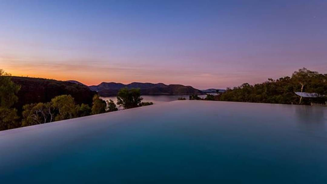 Article heading image for Is This The Most Breathtaking Hotel Pool In Western Australia?