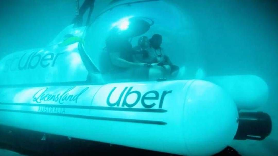 Article heading image for The world's first rideshare submarine here in CQ