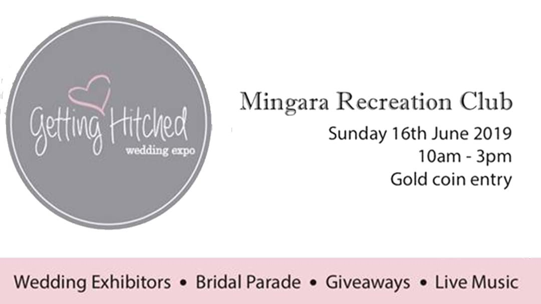 Article heading image for The Getting Hitched Expo!