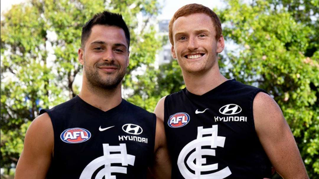 Article heading image for Carlton Sign Michael Gibbons And Matthew Cottrell As Rookies For 2019