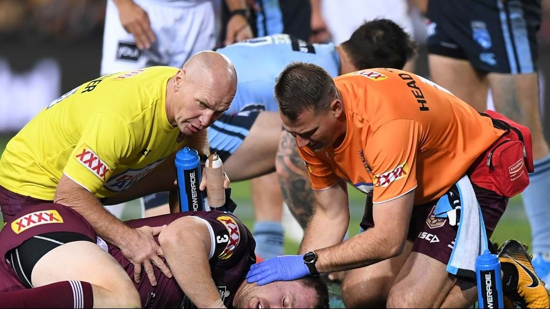 Article heading image for Kevvie Walters Gives An Update On Michael Morgan After Concussion