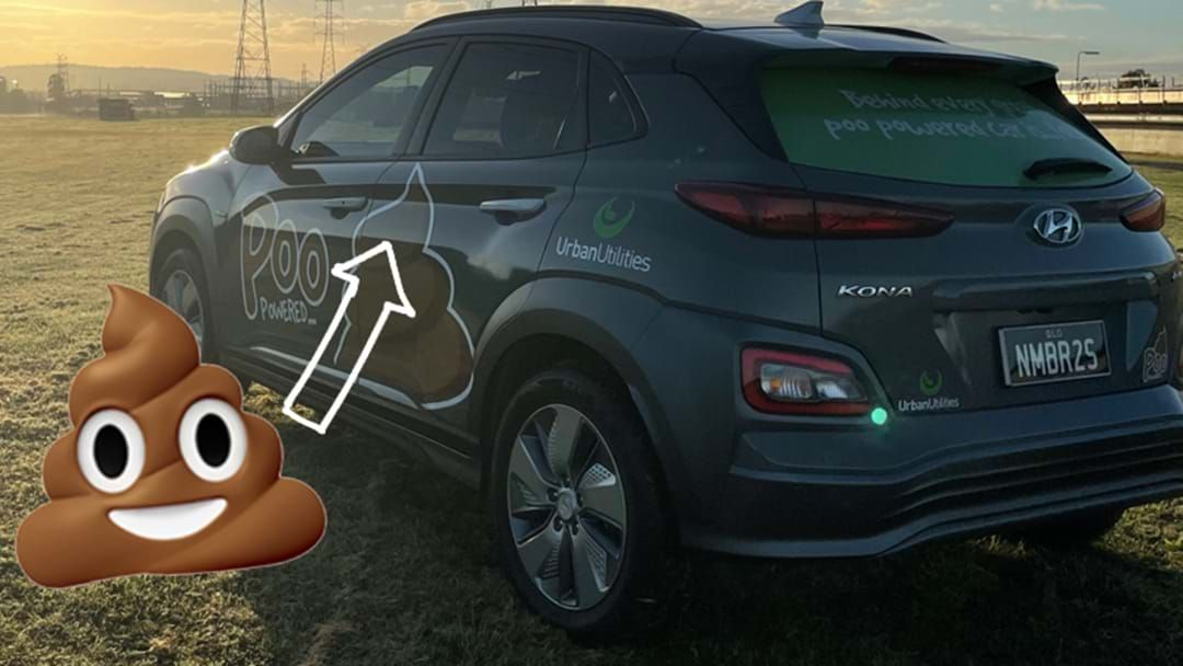 Article heading image for The Future Is Now: A Poo Powered Car Is Here 💩