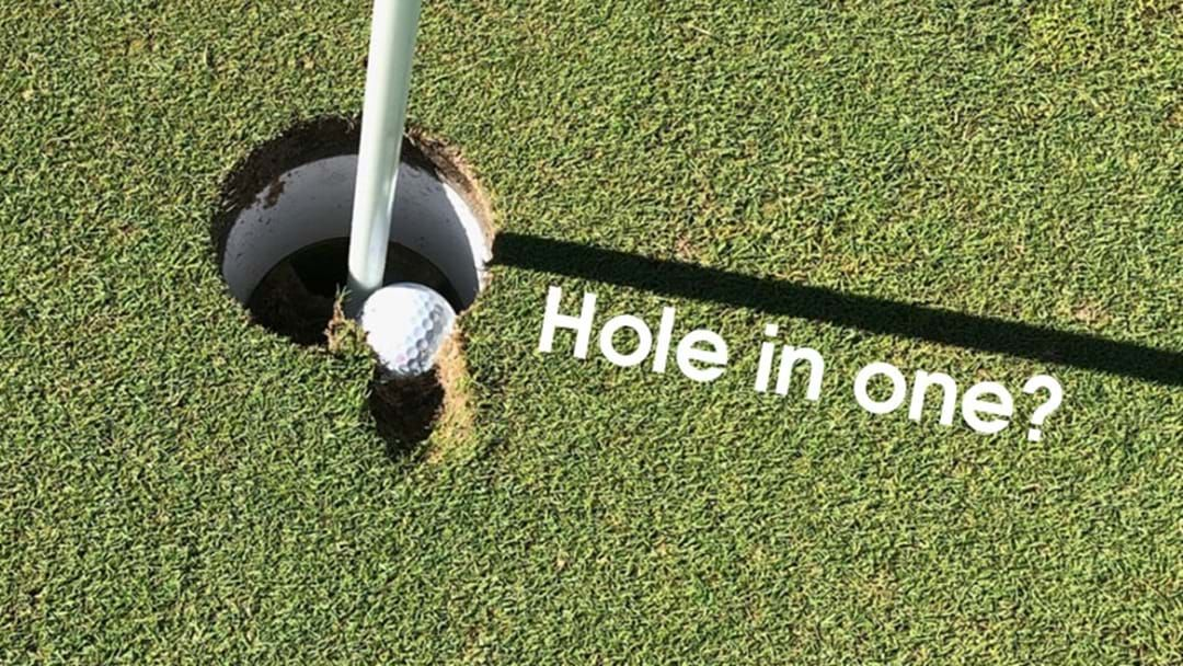 Article heading image for Eyes Alive Golfers... Is This A Hole In One?