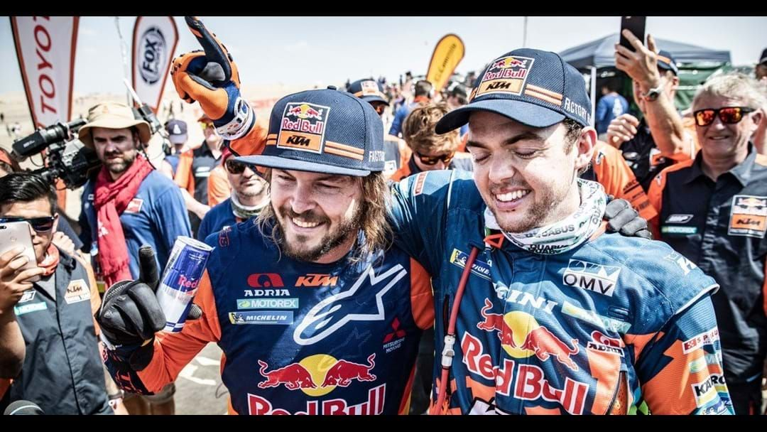 Article heading image for Toby Price Shrugs Off Wrist Injury To Win Dakar Rally