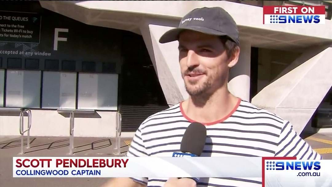 """Article heading image for Scott Pendlebury Says He Is """"All Clear"""" After Mystery Scans"""