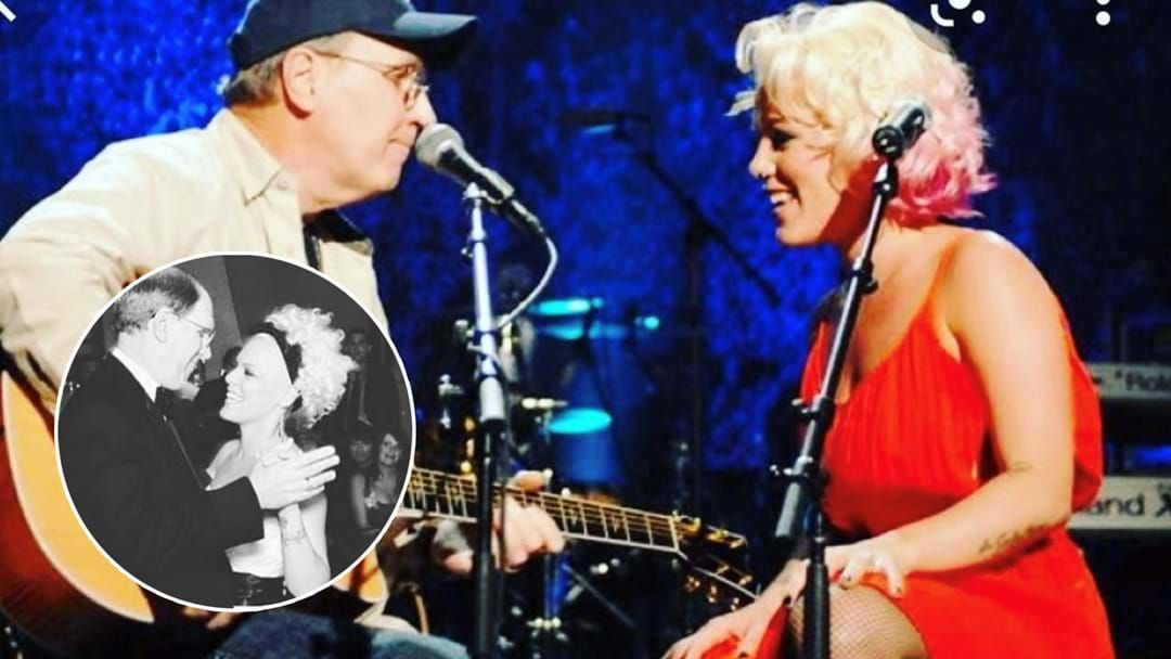 Article heading image for P!nk's Father Jim Moore Passes Away