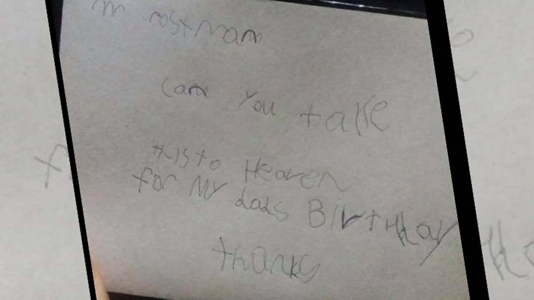 Boy's Letter To 'Dad In Heaven' Receives Special Reply From