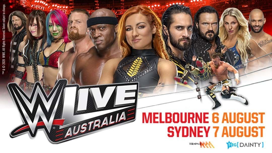 Article heading image for WWE® LIVE Returns To Australia!