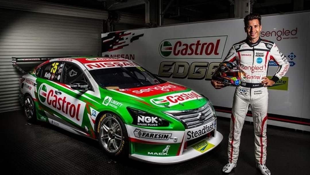 Article heading image for Rick Kelly Unveils Green Machine On Eve Of Adelaide 500